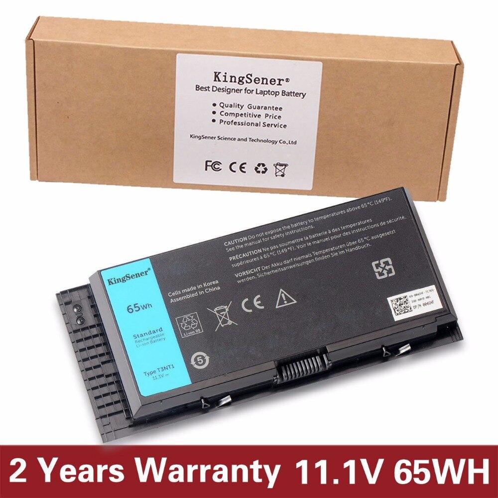 KingSener Korea Cell T3NT1 New Battery For DELL Precision M6600 M6700 M6800 M4800 M4600 M4700 FJJ4W PG6RC R7PND FV993 11.1V 65WH 65wh aptop batteries genuine for dell latitude e5440 e5540 65wh 6 cell battery type vv0nf 451 bbie