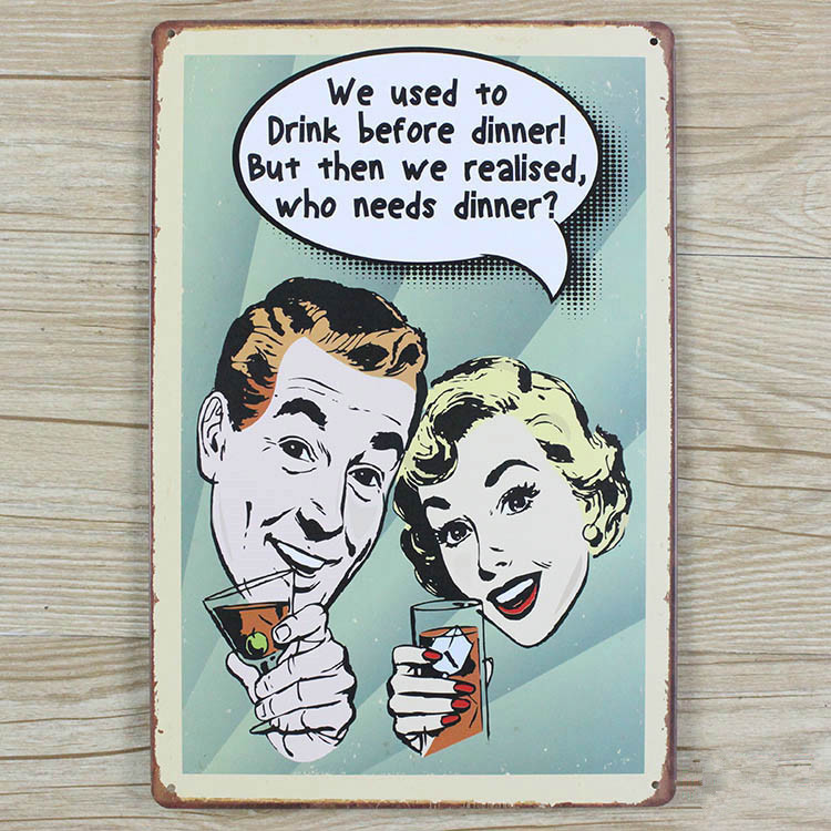 RZXD-478 Vintage tin signs