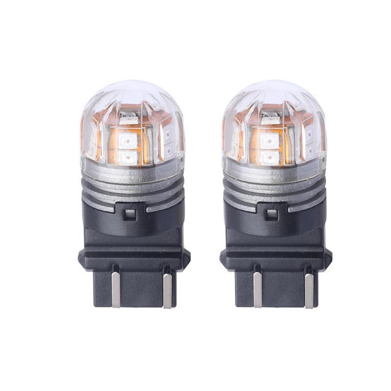 Pairs 3157 LED Automobile Trucks Front Rear Turn Signal Rear Lights Factory Sale 3000K Red Lights DC 10V 36V LED Lamp