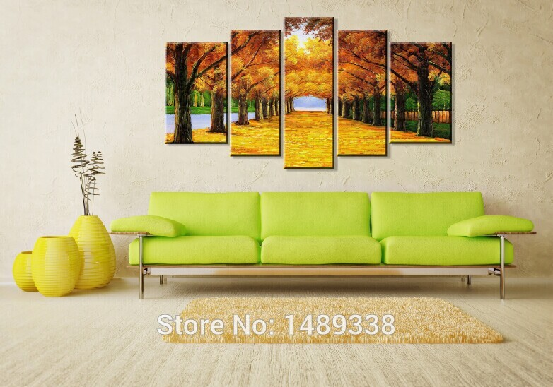 5 Panel Wall Art popular tree panel wall art-buy cheap tree panel wall art lots