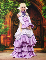 Vivid Beautiful Chii Chobits Cosplay Costume