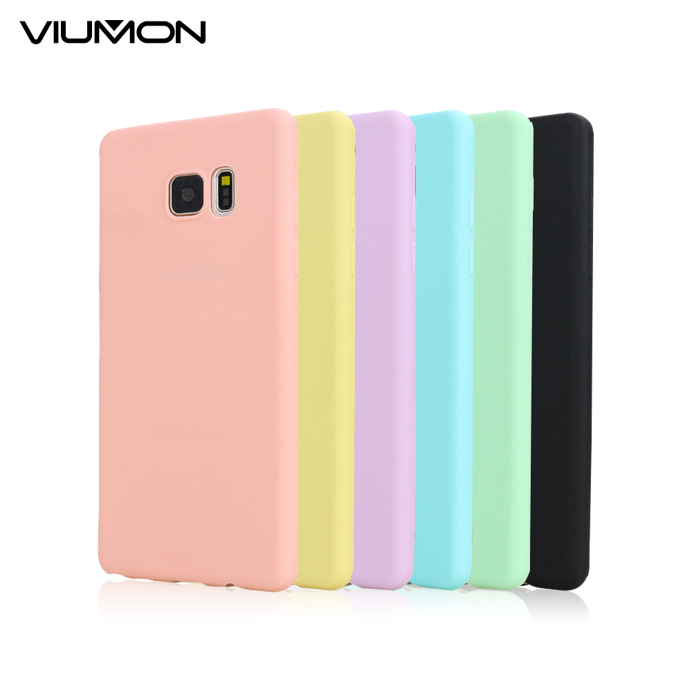 VIUMON Fashion Ultra Thin Soft TPU Back Case for Samsung Galaxy S7 Edge S6 S5 A3 A5 A7 2016 J5 J7 A310 A510 A710 Note 7 Cover