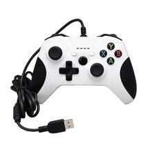 Игровой контроллер с стиками плечи кнопки для microsoft Xbox One проводной геймпад джойстик для ПК Windows