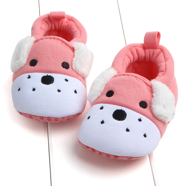 First Walkers Baby Shoes Cotton Anti-slip Booties Baby Girl Boy Shoes Animal Cartoon Newborn Slippers Footwear Booties Kids Gifts (7)