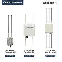 Long Range 1750 Мбит/с ГБ беспроводной открытый AP openWRT Wi Fi Ethernet гигабит Wi Fi маршрутизатор с 6 * 8dBi FRP антенны Базовая станция
