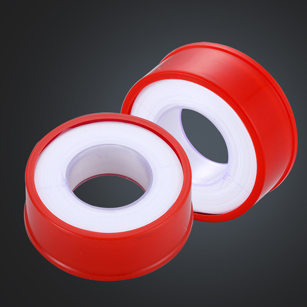 1 Roll Industrial Sealant Tape PTFE Raw Material Tape Thread Sealing Tape Plumbing Duct Tape for Faucets Showers Hoses