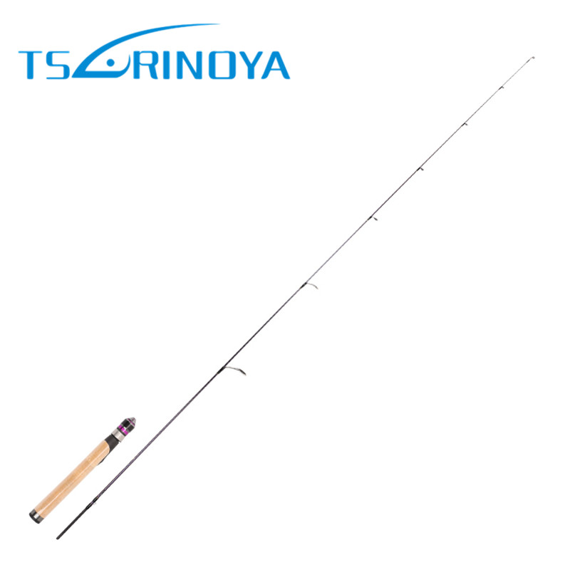 Trulinoya 1.68m UL Solid Tip Soft Cork Handle Spinning Fishing Rod Carbon FUJI Ring Rod Canne A Peche Vara De Para Pesca Carp