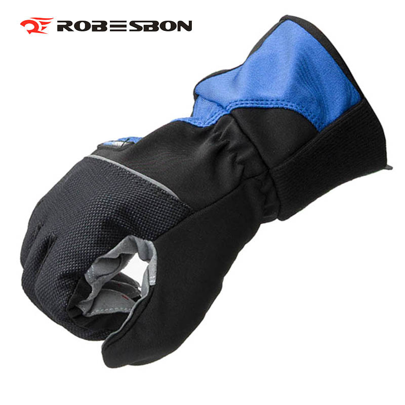 Winter Bicycle Gloves Waterproof Thicken Gloves Skiing Sports Gel Fishing Cycling Gloves EBUYFIRE