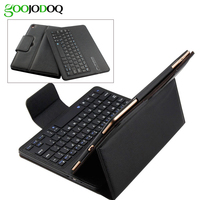 Case For IPad 2 3 4 With Bluetooth Keyboard PU Leather Magnetic Smart Cover Case Folio