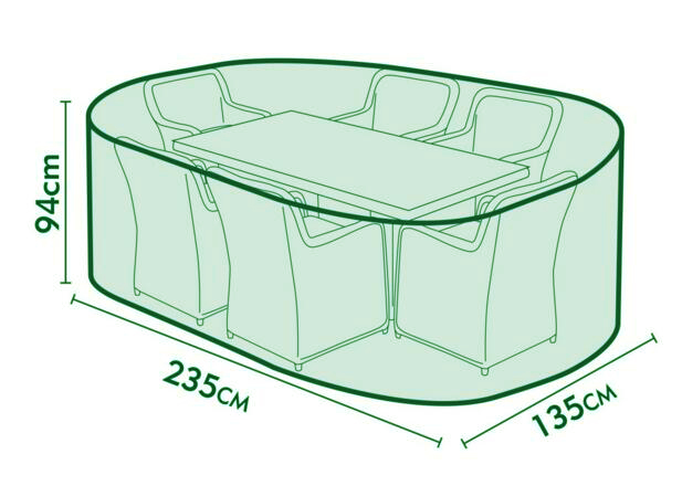 235x135x94cm Protective Cover for garden furniture set,water/dust proofed protective cover,2 colors,Free shipping