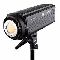 Godox SL200W 5600 К Studio непрерывной светодиодный свет лампы 5600 К Bowens