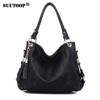 Large Leather Tote Bag Women Shoulder Bags Women Handbags Tassel Hobo Luxury Handbags Women Bags Designer High Quality Sac