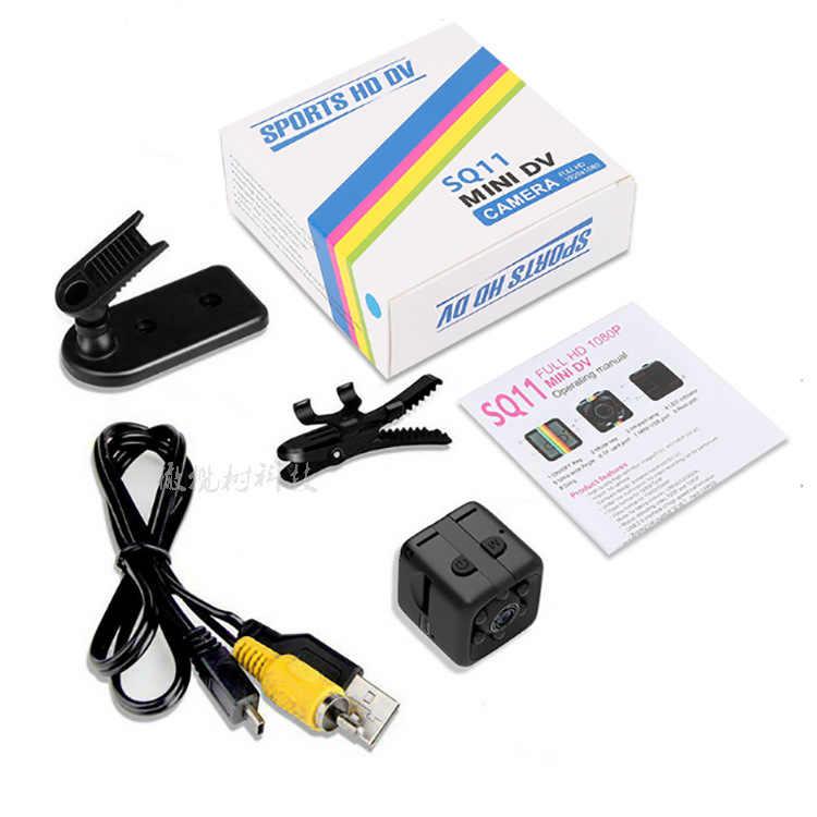 Супер мини DV Камера металла SQ11 HD 1080 P движение инфракрасный свет Ночное видение Aerial видеокамера