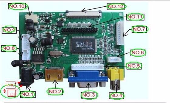 Универсальный HDMI VGA 2AV 50pin TTL LVDS плате контроллера Модуль Мониторы комплект для Raspberry Pi ЖК-дисплей AT070TN92 tn90 94 Панель бесплатная доставка