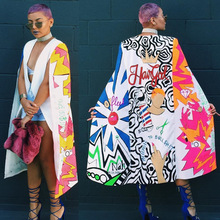 African Dress African Women Clothing In The Autumn Of 2017 A Large Number Of New Personalized Wind Long Suit Fashion Printing
