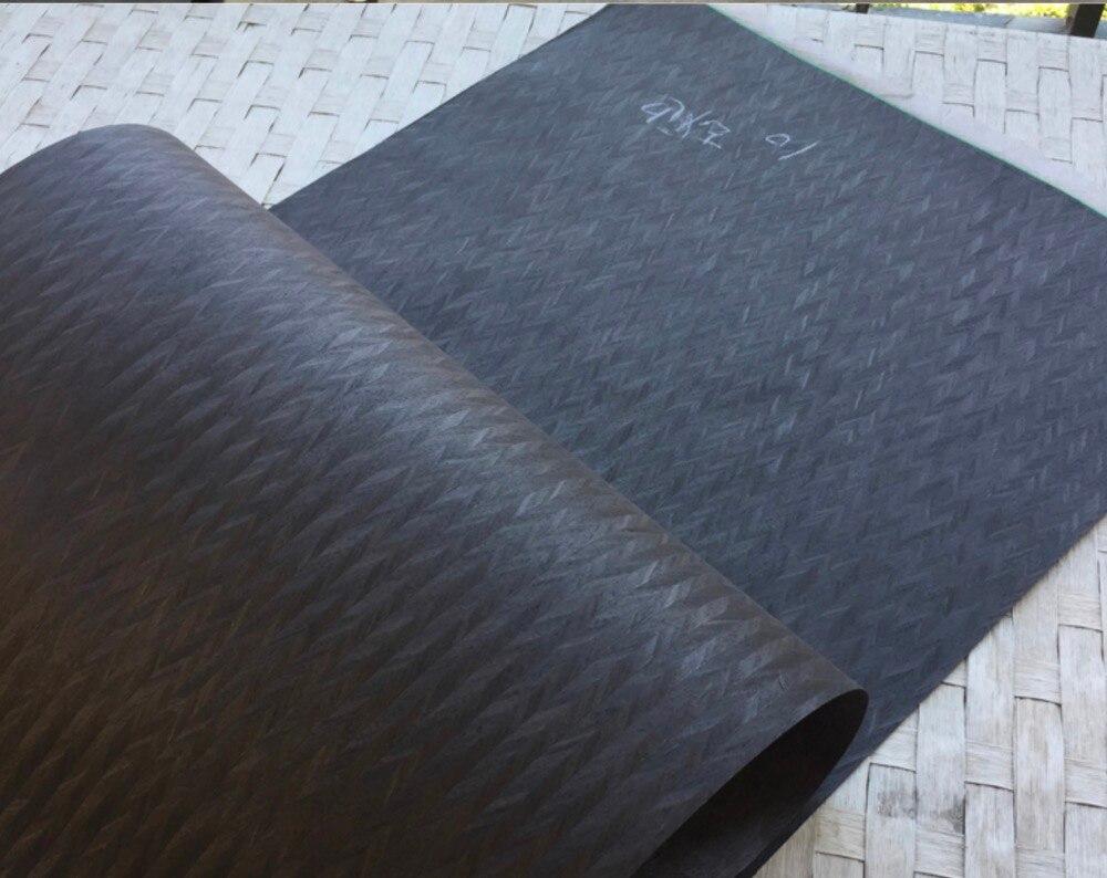 1 pièce L: 2.5 mètres épaisseur: 0.3mm largeur: 55cm technologie scientifique décorative peau de placage de bois