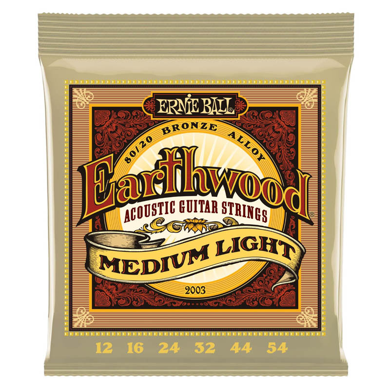 Ernie Ball Earthwood Acoustic Guitar Strings 80/20 Bronze Alloy 2003 2004 2006