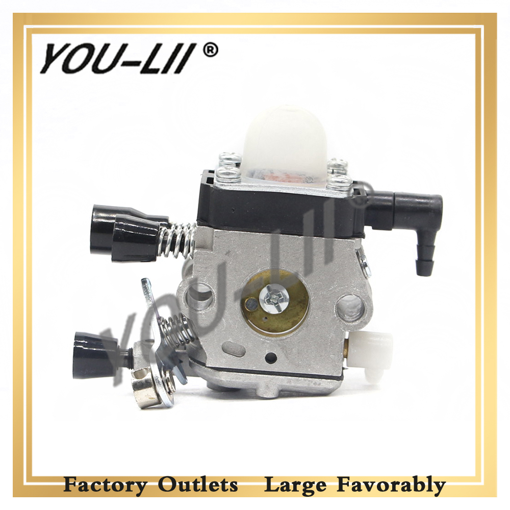 YOULII <font><b>CARBURETOR</b></font> <font><b>For</b></font> <font><b>STIHL</b></font> <font><b>FS38</b></font> <font><b>FS45</b></font> FS46 FS55 FS74 FS75 FS76 FS80 FS85 Trimmer image