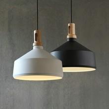 Nordic Vintage Industrial Wood Metal Pendant Light Loft Suspension Luminaire Hanging Lamp Lamparas Colgantes For Kitchen стоимость