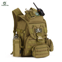 Military Tactical Backpack 40L Outdoor Army Trekking Sport Travel Rucksack Camping Hiking Trekking Sport Bag Bolsa Tatica