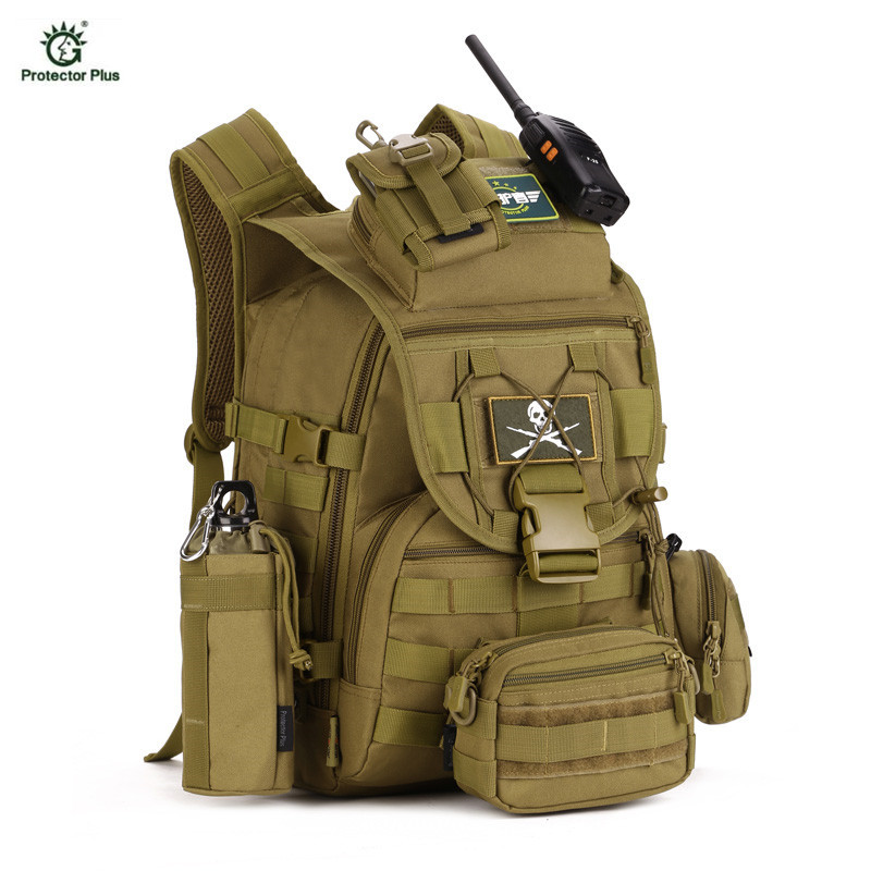 Military Tactical Backpack 40L Outdoor Army Trekking Sport Travel Rucksack Camping Hiking Trekking Sport Bag Bolsa Tatica 40l 3d outdoor sport military tactical climbing mountaineering backpack camping hiking trekking rucksack travel outdoor bag