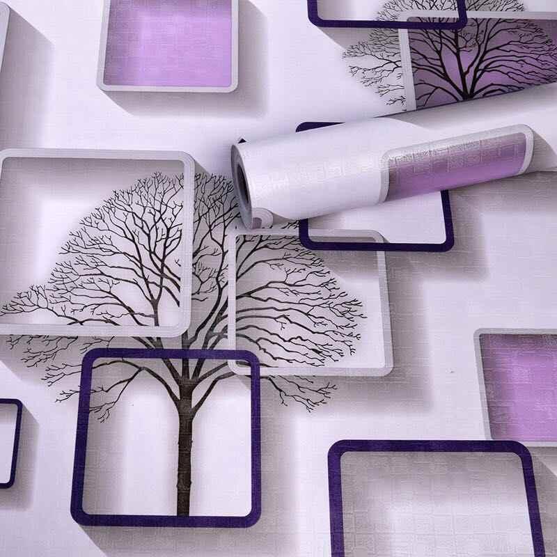 Envoyer un masque 10m nouveauté 3D décoller et coller papier peint auto-adhésif Papel de parede pour la maison et le salon