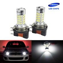 ANGRONG 2x H15 64176 SAMSUNG LED Bulb Daytime Running Light Lamp For VW Amarok Caddy MK3 2010+