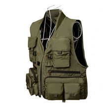 Korean Fishing Vest Quick Dry Fish Vest Breathable Material Fishing Jacket Outdoor Sport Survival Utility Safety Waistcoat(China)