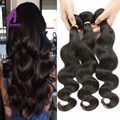 Alimice Brazilian Hair Body Wave 3Bundles 10A Grade Virgin Unprocessed Human Hair Weaves Alimice Hair Brazilian Body Wave