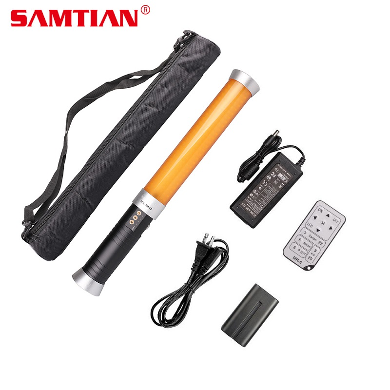 SAMTIAN MTL-MINID Video Light Portable Handheld LED Video Light Magic Tube Lamp Photography Lighting For Studio photography осветитель sunpak led 36 video light