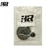 RC car 11184 steel metal diff.main gear 64T 11181 motor gear 21T RC parts for 1/10 HSP monster truck himoto redcat
