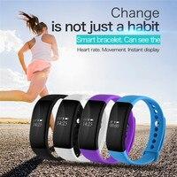 Bluetooth Smartband V66 Sleep Heart Rate Monitor IP67 Waterproof Smart Wrist Band Bracelet For IPhone 5s