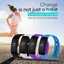 Bluetooth Smartband V66 Sleep Heart Rate Monitor IP67 Waterproof Smart Wrist band Bracelet for iPhone 5s 6 6s for Android Phone