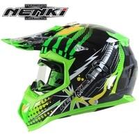 Free Shipping 1pcs NENKI Motocross Helmet Off Road Motocross Helmets Racing Motorbike Sports Motorcycle Helmet