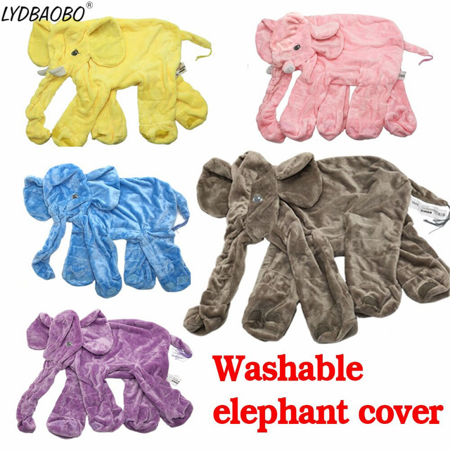 1PC 60CM Cheap Drop Shipping Infant Soft Appease Elephant Skin Playmate Calm Doll Baby Toys Empty Elephant Plush Toy Kids Gifts