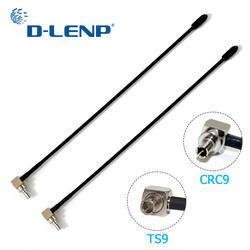 Dlenp 2 шт. 4G LTE антенну с TS9 или CRC9 разъем для Huawei E398 e5372 E589 E392 ZTE mf61 MF62 aircard 753 S 5dbi усиления