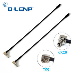 LTE-ANTENNA Crc9-Connector E398 Gain Huawei 5dbi TS9 Zte 4G E5372 2pcs with for E398/E5372/E589/..