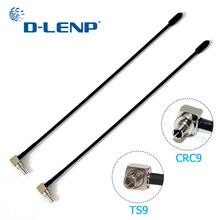 Dlenp 2pcs 4G LTE אנטנה עם TS9 או CRC9 מחבר עבור Huawei E398 E5372 E589 E392 Zte MF61 MF62 aircard 753s 5dbi רווח