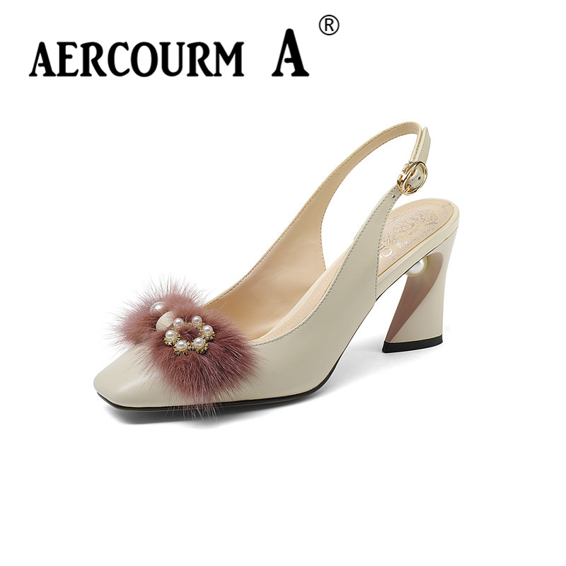 Aercourm A Women Open Toe Sandals Girls Sheepskin Leather Shoes Lady Buckle Solid Summer Shoes 2018 New Pink Gray Sandals Z361Aercourm A Women Open Toe Sandals Girls Sheepskin Leather Shoes Lady Buckle Solid Summer Shoes 2018 New Pink Gray Sandals Z361