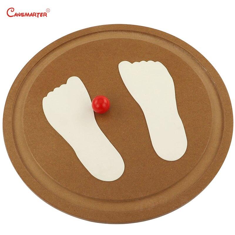 Montessori pied main Balance conseil sensoriel jouets éducatifs jeux pour enfants équilibre exercices enseignement jouet