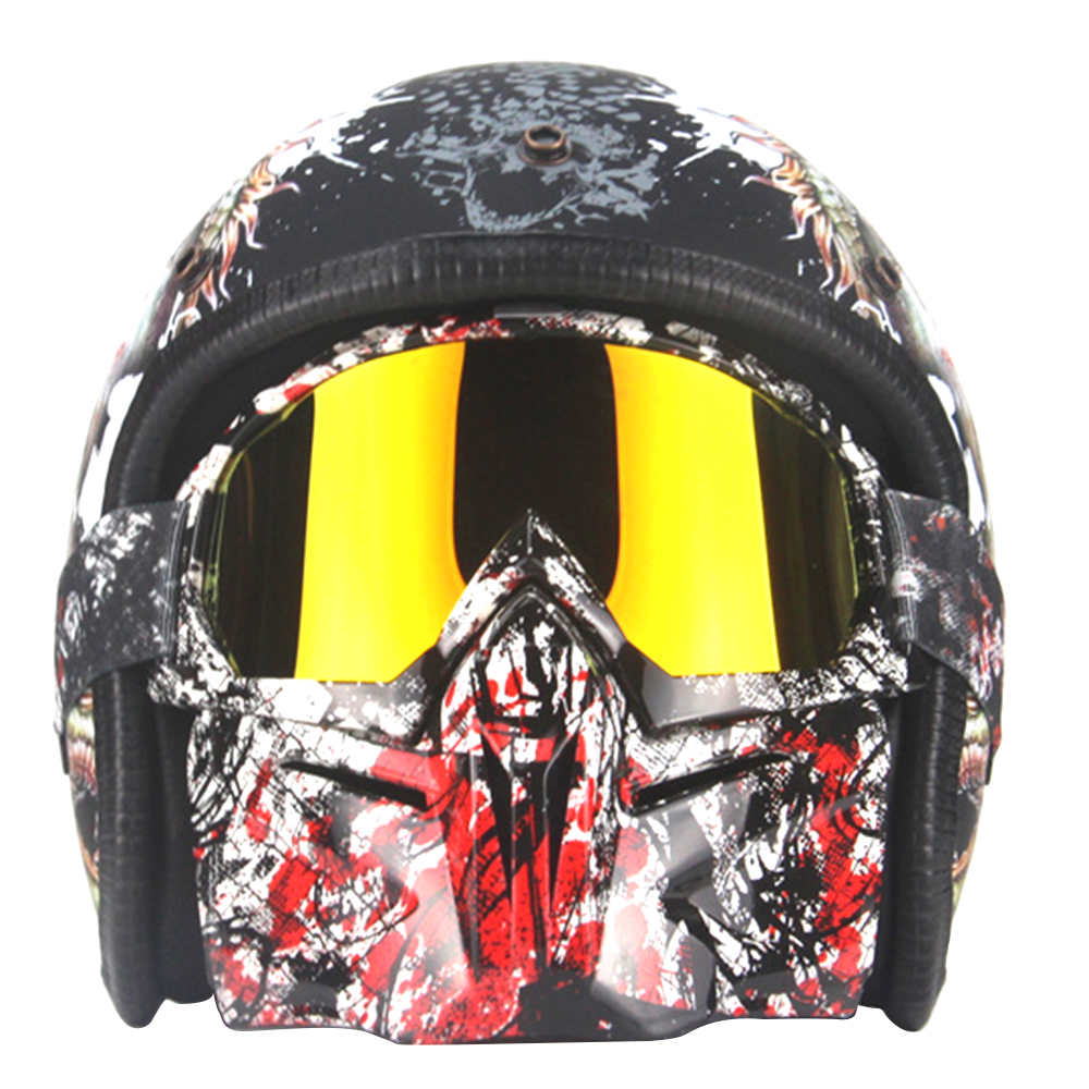 Visage Masque Tactique Casque Masksunglas Moto Casques Dragon Moto accessoires