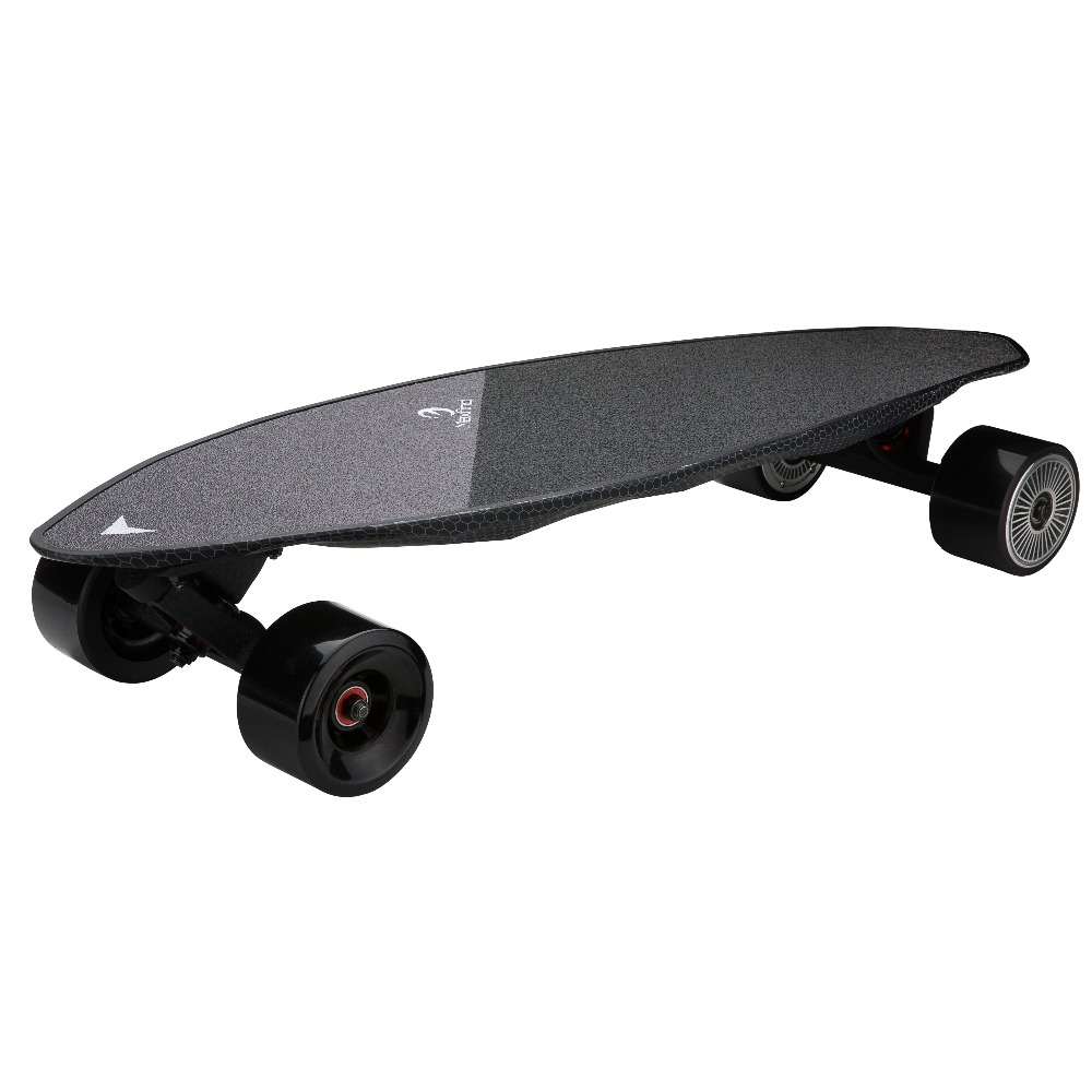 """Image 4 - Maxfind Limited Edition Electric Skateboard Max 2 Dark Longboard 31"""" 23 MPH Top Speed 16 Miles Max Range Dual Motor-in Skate Board from Sports & Entertainment"""