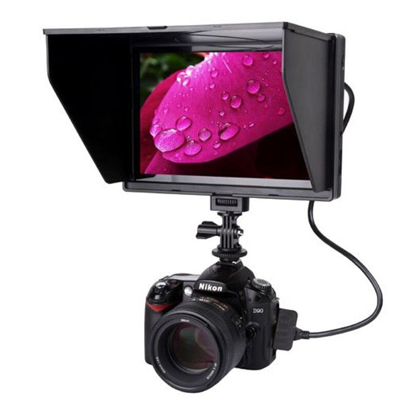 Viltrox DC-90 HD 8.9 ''LCD caméra vidéo moniteur 4 K HDMI entrée sortie AV 1920*1200 pixels pour Canon Nikon Viltrox DSLR