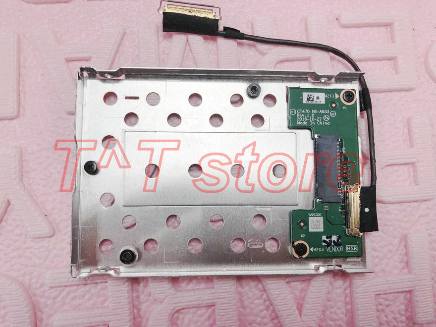 купить Original T470P T470 SSD Hard Drive Caddy board NS-A933 01AX994 00UR496 test good free shipping по цене 5847.79 рублей