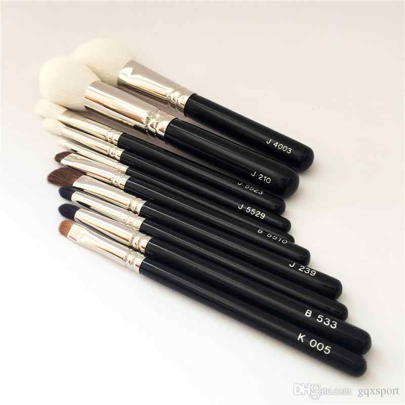 J210 Rodada Pó J4003 J5523 Angled Blush Eyeshadow Blending J5529 Detalhado Escova-Beauty Makeup Blender Brushes Aplicador
