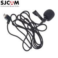 100 Original SJCAM Accessories External MIC Microphone With Clip For SJ6 Legend SJ7 Star SJ360 Sports