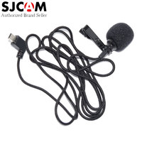 100 Original SJCAM Accessories External MIC Microphone With Clip For SJ6 Legend SJ7 Star SJ360 Sports