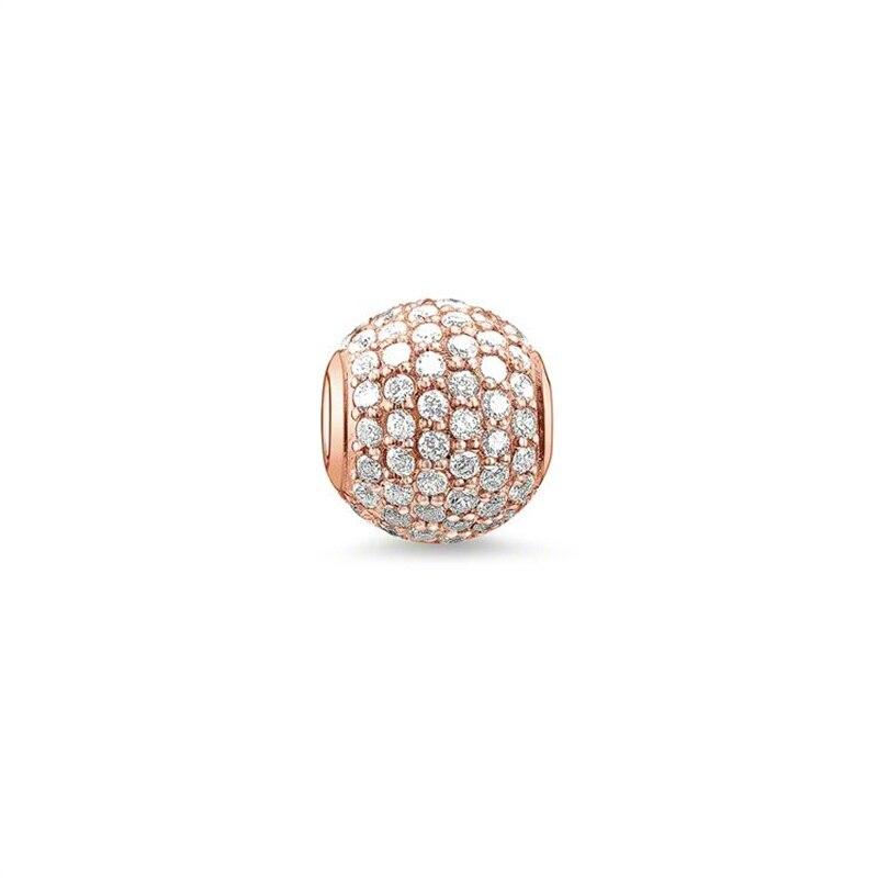 Ən yüksək keyfiyyətli gümüş örtüklü Diy kristal muncuq moda - Moda zərgərlik - Fotoqrafiya 3