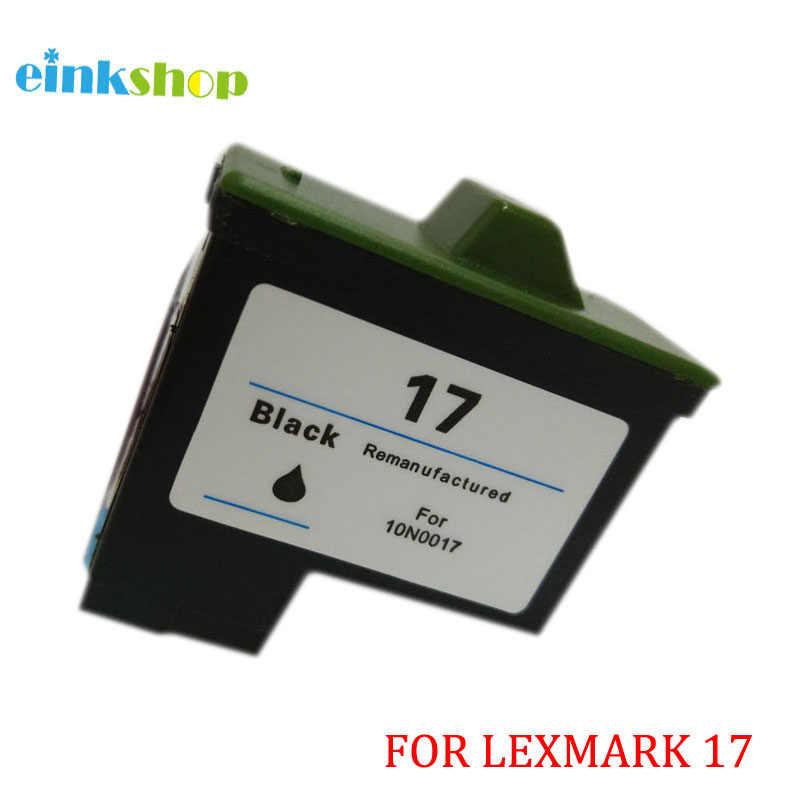 Einkshop Für Lexmark 17 Schwarz Tinte Patrone Für Lexmark Z13 Z23 Z25 Z33 Z35 Z603 Z605 X75 X1150 Z515 Z615 für tinte patrone