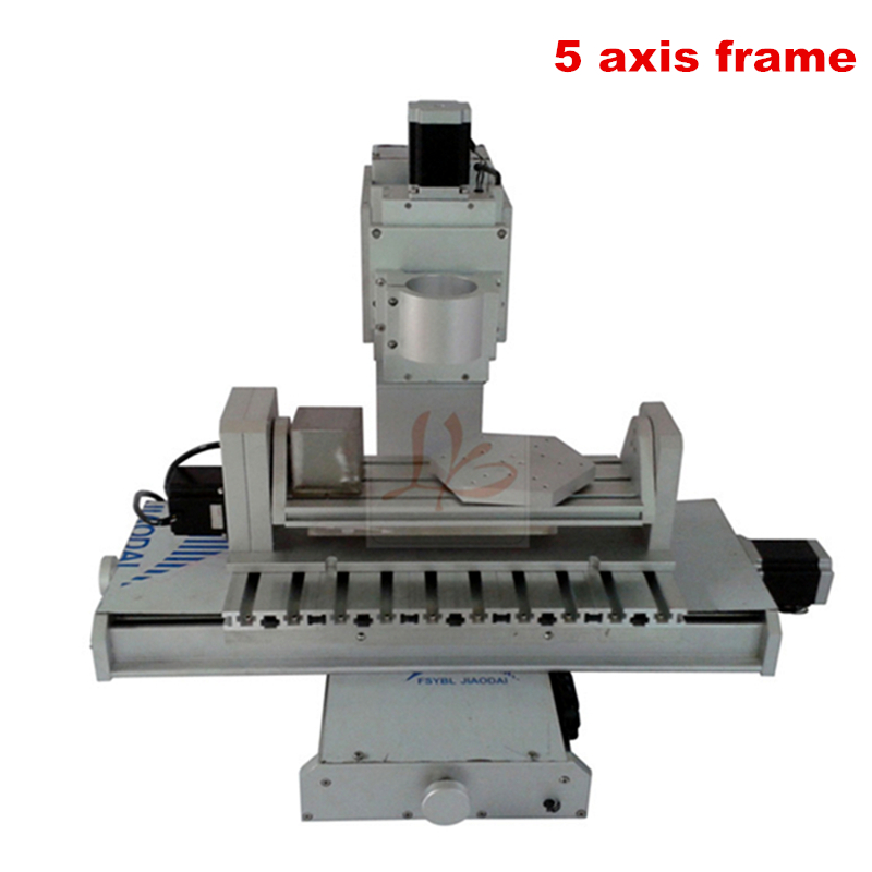 3040 pillar type 5 axis CNC frame and high precision ball screw for mini CNC router price